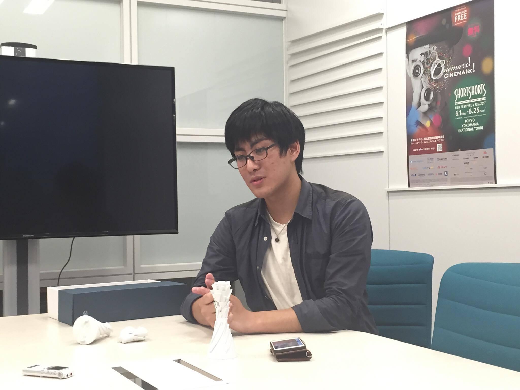 デジタルハリウッド大学4年生 金刺龍賢さんの写真 その1
