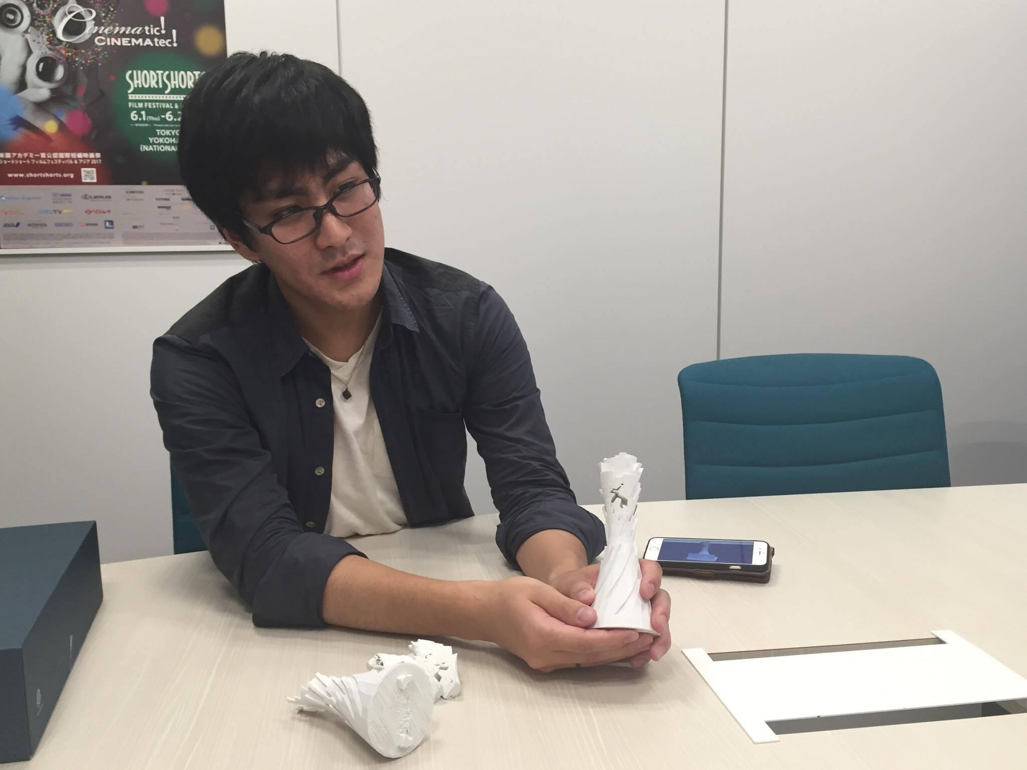 デジタルハリウッド大学4年生 金刺龍賢さんの写真 その2